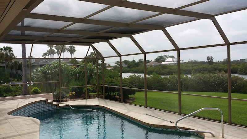 Pool Enclosure Restoration Tampa St Pete And Clearwater Fl
