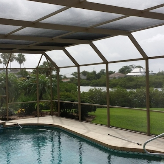 Bay Pines Pool Cage