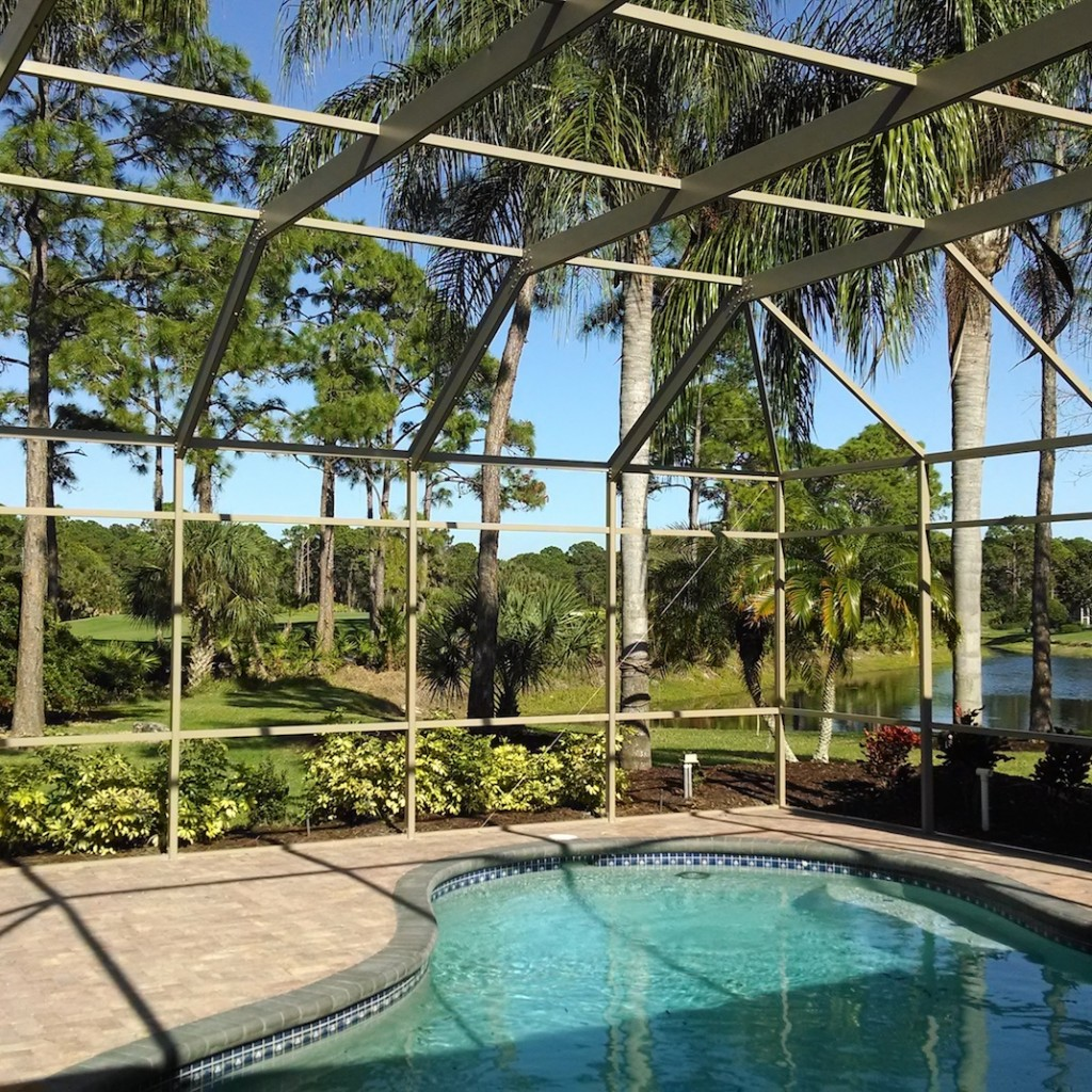 Pool Cage Pool Enclosure Restoration St Petersburg Pool Cage Painting Enclosure Restoration Tampa Fl