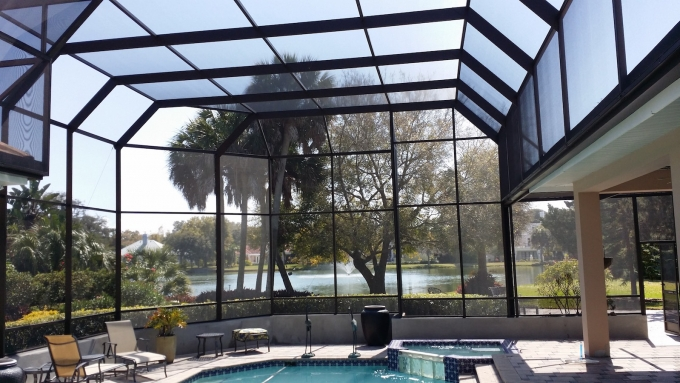 St Pete Pool Enclosure